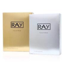 Thailand Ray Facial Silk Mask Moisturizing Gold Box + Silver Box #grupk