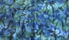Dark Ocean  - Spot hand dyed rug hooking 100%  wool fabric - Fat Quarter