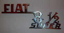 FIAT 850 SUPER/ SCRITTA POSTERIORE/ REAR NAMEPLATE
