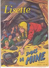 Lisette N°17 du 27 avril 1958 Solveg, Yvan Marié, Marti, Gellens, Erik