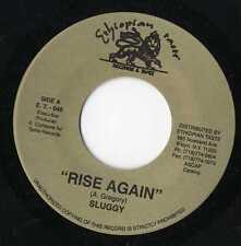 "Sluggy - Rise Again / Dub Trax 7"" NM Ethiopian Taste"