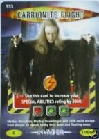 DOCTOR WHO BATTLES IN TIME CARRIONITE 3 SR CARD 042//225  FREE P/&P INVADER