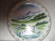 """South Dakota State Flower """"The Pasque"""" Collector's Plate 10"""""""