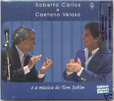 ROBERTO CARLOS CAETANO VELOSO A MUSICA DE TOM JOBIM CD