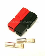 Anderson Powerpole Connector, 15 Amp, Red & Black BONDED Housings, 10 pack