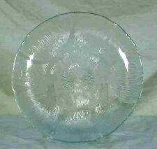 Arcoroc Glass Fleru Pattern Salad Plate France Clear Glass zmd0198