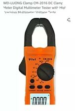 Wei-Luongwei-Luong Clamp Cm-2016 Dc Clamp Meter Digital Multimeter Tester with