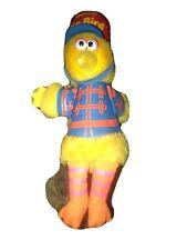 "Knickerbocker Sesame Street Musical Big Bird Plush Band Leader Windup 11"" 1980"