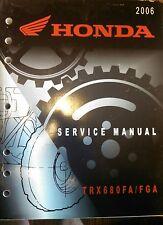 Honda 2006 TRX680 FA/FGA service manual