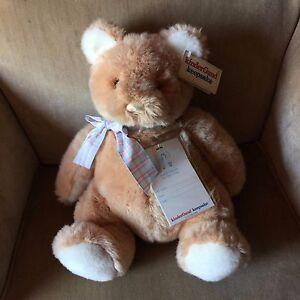 "Kinder Gund Keepsake Gund 1988 Vintage Bear 14"" Plush"