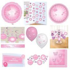 Articoli rosa Amscan battesimo per feste e party