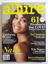 Allure June 2013 Zoe Saldana Surfer Girl Hair Sun Kissed Highlights (M677)