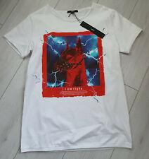 Tigha Herren  T-Shirt Thunderstorm MSN White Größe M