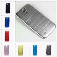 Silver Metal Back Battery Cover Door Case Housing For Samsung Galaxy S4 IV i9500