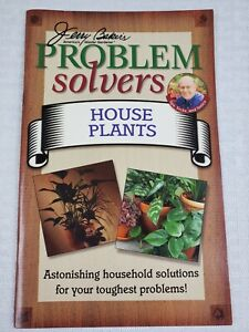 Jerry Bakers Problem Solvers HOUSE PLANTS  Paperback Booklet- Gardening