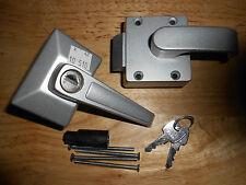 Caraloc 680 Left Hand Door Lock, Complete With 2 Keys & Fittings, Caravan/Static