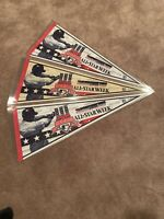 Lot of 3 1997 ALL STAR GAME  Cleveland Indians Jacobs Field  MLB  Pennant 30""