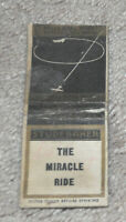 1935 Studebaker The Miracle Ride Automobile Car Advertising Matchbook w/Plane !!