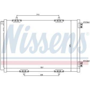 1 Kondensator, Klimaanlage NISSENS 940055 passend für CITROËN OPEL PEUGEOT DS