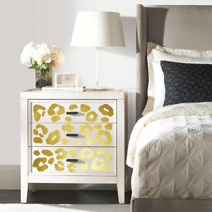 RoomMates Leopard Spot Peel And Stick Wall Decals With Foil,Multicolor