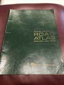 Vintage 1966 Rand McNally Road Atlas -Diamond Chemicals