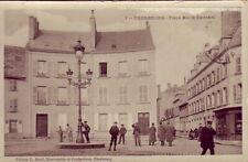 CPA 50 NORMANDIE Manche - Port de CHERBOURG La Place Marie - Ravenel 1916 animée