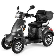 4 Wheeled ELECTRIC MOBILITY SCOOTER 1000W VELECO FASTER GREY