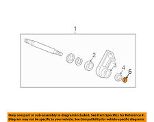 GM OEM Drive Axles-Front-Intermed Shaft Retainer Ring 7829495