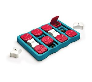 Nina Ottosson Dog Brick Treat Dispensing Brain and Exercise Game for Dogs, One S