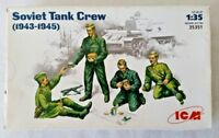 ICM 1/35 scale Soviet Tank Crew 1943-1945 Kit No. 35351