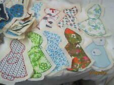 Vintage 1970's 35 Quilt Blocks Sun Bonnet Sue different sizes