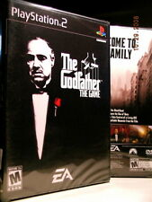 THE GODFATHER: THE GAME / PLAYSTATION 2 ~ NEW N' FACTORY SEALED, FREE SHIPPING!!
