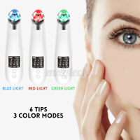 Vacuum Blackhead Acne Cleaner Pore Remover Electric Skin Face Facial Care