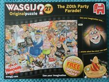 'The 20th Party Parade' Wasgij 2 x 1000 piece Jigsaw Puzzles. Falcon. Complete