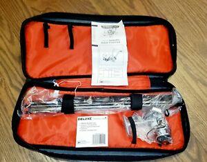 "Vintage SM200 Mitchell Spidermite Deluxe Travel Fishing Rod 5'6"" & Reel Unused"