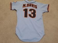 Mark Davis Game Worn Jersey 1984 San Francisco Giants Phillies Padres Braves