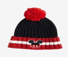 New Disney Mickey Mouse Pom Vintage Classic Cap Hat Beanie