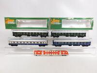 CO16-1# 4x Lima H0/DC Personenwagen DB: 9122 + 9114 etc, leichte Mängel, 2x OVP