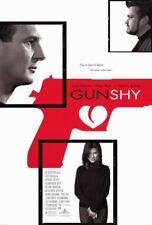 GUN SHY MOVIE POSTER 2 Sided ORIGINAL 27x40 SANDRA BULLOCK LIAM NEESON