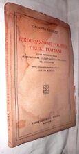 L EDUCAZIONE POLITICA DEGLI ITALIANI Vincenzo Gioberti Stefano Mazzilli 1941 di