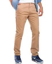 Pantalones de hombre marrón marrón, W32