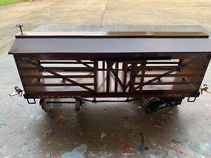 Ives Wide Gauge - 193 Live Stock Car restored