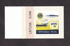 Lithuania Lions International Personalised MNH selfadhesive Stamp. Rare.