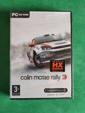 COLIN MCRAE RALLY 3 PC NEW PAL IT NUEVO RARE ITALIANO