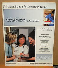 National Certified Medical Assistant NCCT Official Review Book (2014, Softcover)