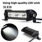 9W CREE LED WORK LIGHT BAR Flood motorcycle OFFROAD SUV ATV CAR white LAMP 12V