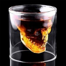 Cool Skull Head Shot Glass Creative Designer Party Wine Cup Drinkware V0
