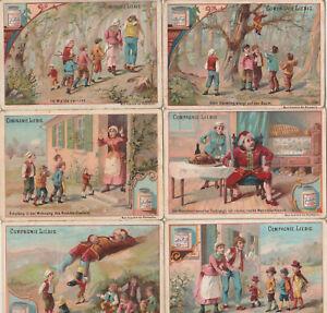 Original Liebigbilder Serie Nr. 94 von 1887 Däumling - Zustand zufriedenstellend