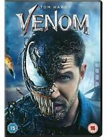Venom Movie (DVD, 2018)