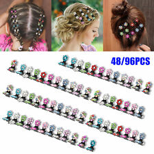 48/96Pcs Mini Hair Clips Claw Barrettes Accessories Assorted Women Girls Hairpin